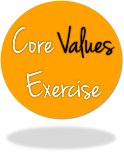 core value exercise