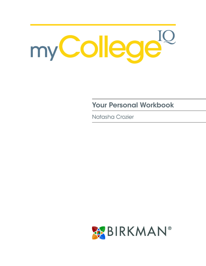 My College IQ Workbook Image